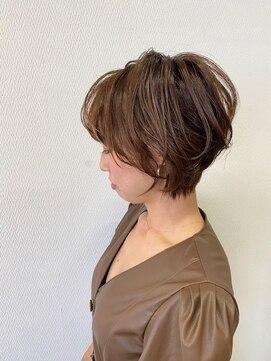 ヘアハウス ルアナ(Hair House Luana by NYNY)大人かわいいショート
