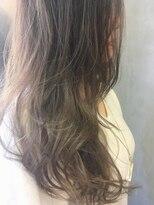 ニコ ヘアーアンドメイク(nico hair&make)《nico》透け感ハイライト