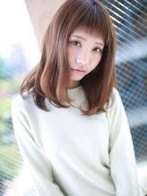 """アグ ヘアー トレンチ 稲沢店(Agu hair trench)☆""""オン眉""""セミィスタイル☆"""