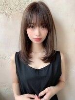 【Lond robin】伊藤ガク ストレート/前髪/ナチュラル/セミディ G