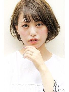 ネイヴィル(navile)ショートボブ×透明感カラー【navile内藤允意】