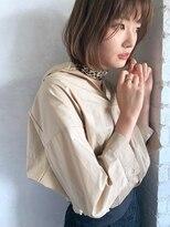 ベルビアンカ(Belle BIANCA)Belle BIANCA ダブルバング 小顔ナチュラルボブ by.マツモト