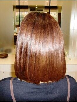 びようオリーブの写真/クセ毛の悩みはお任せ!サラッとまとまり扱いやすい髪質へ。忙しい朝も簡単スタイリングで可愛くキマる♪