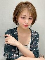 LallYou 錦糸町【オープン記念】ラベージュ耳かけショート