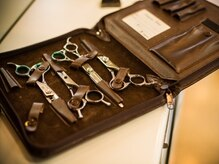 カットサロンギンザ 小手指店(GINZA)の雰囲気(こだわりの仕事道具で、お客様のご希望にお応えします!)