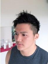 ヘアーメイク プラスネイル ジャム イップク(Hair Make +Nail JAM IPPUKU)アシメ×ソフモヒヘア