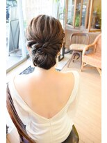 ウェディングヘア/ウェディングドレス髪型/【BELL桜新町/用賀】