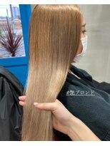 ヘアアンドビューティー クローバー(Hair&Beauty Clover)blond