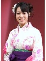 卒業式の袴スタイル画像