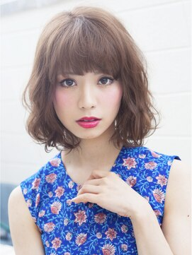 ギャフ 表参道本店(GAFF) 抜け感リラクシングウェーブボブ☆小顔◎ GAFF