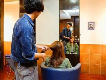 ヘアールーム(Hair Room)の写真/プライベートサロンだからこそ出来る丁寧なカウンセリングで、あなたの魅力を最大限に引き出します★