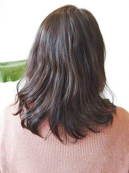 キッサ(KISSA)の写真/大人女性の髪の悩みを改善!髪質やその人の肌の色に合ったカラーで若々しさUP◎年齢を重ねる度に美しさを。