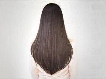 フランクヘア(FRANK HAIR)の写真/《川内町》クセ、うねりや広がりが気になる髪もFRANK HAIRの縮毛矯正で艶やな美しいストレートヘアに♪