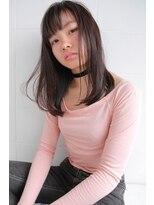 ハロ (Halo hair design)シンプルイズベスト!ストレート内巻きスタイル