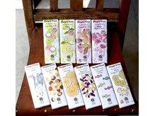 美容室 アリガトの雰囲気(People Treeのチョコレートも販売しています。)
