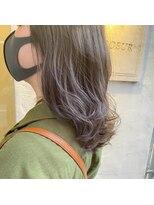 ヘアーエスクール 本店(hair S.COEUR)パープルグレージュ
