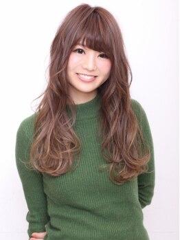 トゥウィンクル(twinkle)の写真/カラーやパーマで傷んだ髪が気になる方、必見です☆美髪をキープしながら、しっかりとしたカール◎