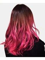 ピンク × ピンク