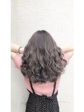 アグ ヘアー ライド 難波店(Agu hair ride)ラベンダーアッシュ☆