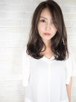 ヘアーブランド リンク 三宮店(HAIR BRAND Link)【Link】マットベージュ×大人セミディ