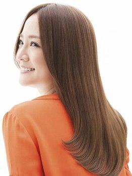 ヘアーアンドカラー ミヤ 桑園駅前店(hair & color MIYA)の写真/「クセ毛がふくらんで困っている。」「不自然なストレートになるのはイヤ。」どんなお悩みもMIYAで解決♪