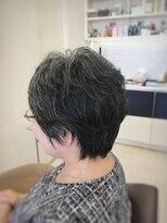 クール ヘアー ギャラリー 神明町店(COOL Hair gallery)大人ショートパーマ☆美シルエット
