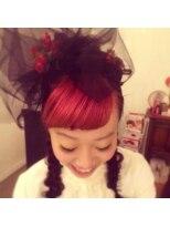 ヘアーデコ グラント(hair deco Grant)Pinky bang
