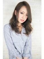 ヘアーブランド リンク 三宮店(HAIR BRAND Link)【Link】グレージュ×ラフウェーブ