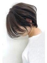 大人エッジショート/縮毛矯正/白髪染め/小顔 【Laetus】
