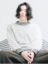 【ACA】アップバングサイドパート☆イメチェンニュアンスパーマ