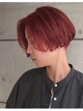 カイラ(KAILA)【KAILA】高野 ピンクハンサムショートレトロボブ