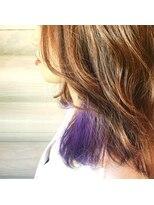 クレエ ヘアー デザイン(creer hair design)インナーカラー