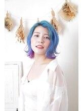 アモンド(amond)☆★大人かわいい派手髪カラー