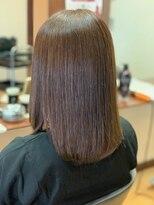 ヘアメイク グラント(HAIR MAKE GRANT)ツヤサラ縮毛