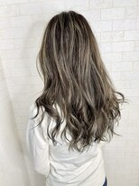 アルマヘア(Alma hair)アッシュブラウン☆ハイライト
