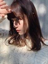 シアアオヤマ 表参道青山(SHEA aoyama)【前坂美来乃】好感度しかない!王道ミディアム[青山/表参道]