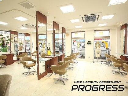 プログレス つくば店(PROGRESS by ヂェムクローバーヘアー)の写真
