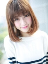 アグ ヘアー オーシャン 沖縄北谷店(Agu hair ocean)フリンジバング☆ツヤさらヘア