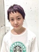 クリアーオブヘアー 栄南店(CLEAR of hair)【CLEAR】ラベンダーベリーショート
