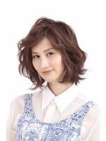 ブン デュエ 名古屋北店(BUN duet)大人上品な印象を与えるミディアムスタイル