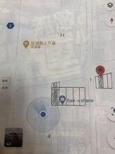 駐車場の位置の詳細になります