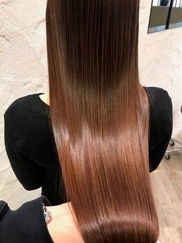 レウーナ(Reuna)の写真/【★ハリスノフトリートメント★】くせ毛、うねり、広がりが気になる。そのお悩みを解決させてください★