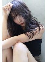 【ROSE/鳳】ラベンダーグレー/セミロングemk1