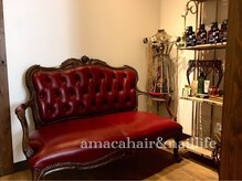 アマカ ヘアライフ(amaca hair life)の雰囲気(amacaのドアを開くと女性心をくすぐる魔法がいっぱい^^♪)