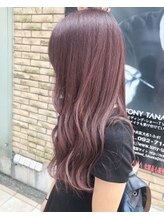 ビーチ(Beach) 【Beach_watake】Bordeaux.hair