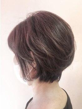 エリカ(erica)の写真/自宅でのスタイリングでも簡単に再現出来るショートヘアが叶う♪年齢と共に気になる髪のクセやお悩みも解決
