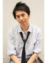 黒髪アップバングショート【kotona越谷】