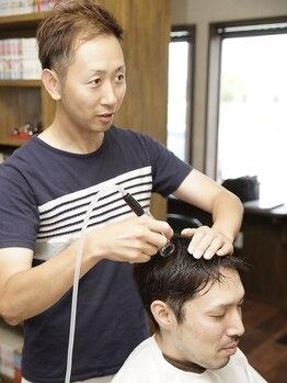 メンズヘア ホープ(Men's hair HOPE)の写真/【八代*男性特化サロン】イチオシ『エアスパ』!!頭皮の汚れを真空吸引して毛穴汚れをスッキリ&育毛促進へ★