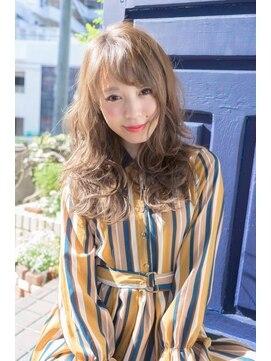 シエル ヘアーデザイン(Ciel Hairdesign)【Ciel】 デジタルパーマで作る好感度MAXのフェミニンロング