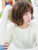 カバーヘア ブリス 北浦和西口店(COVER HAIR bliss)*bliss北浦和*フェミニンボブ☆ふわくしゅくせ毛風a